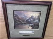 THOMAS KINKADE ALMOST HEAVEN FROM MEDIA ARTS GROUP W/ COA